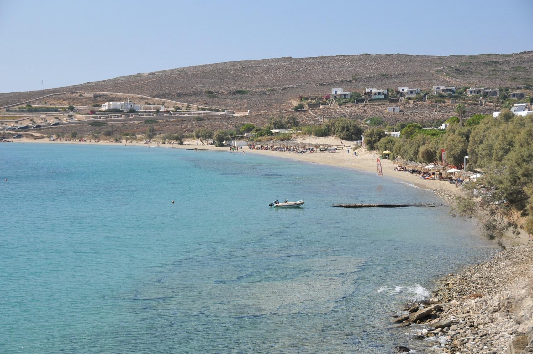 best beaches in paros
