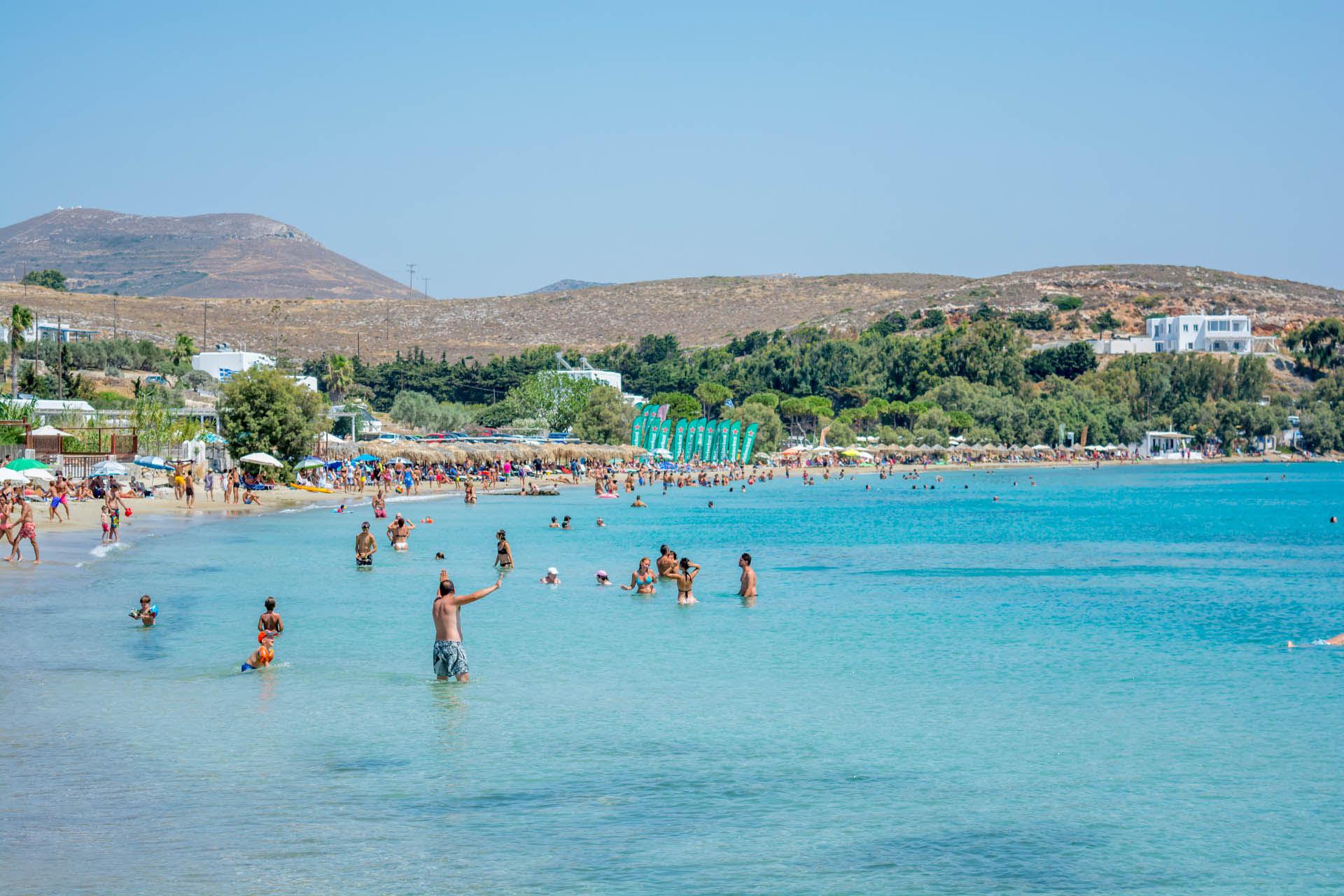 Vacation in Paros