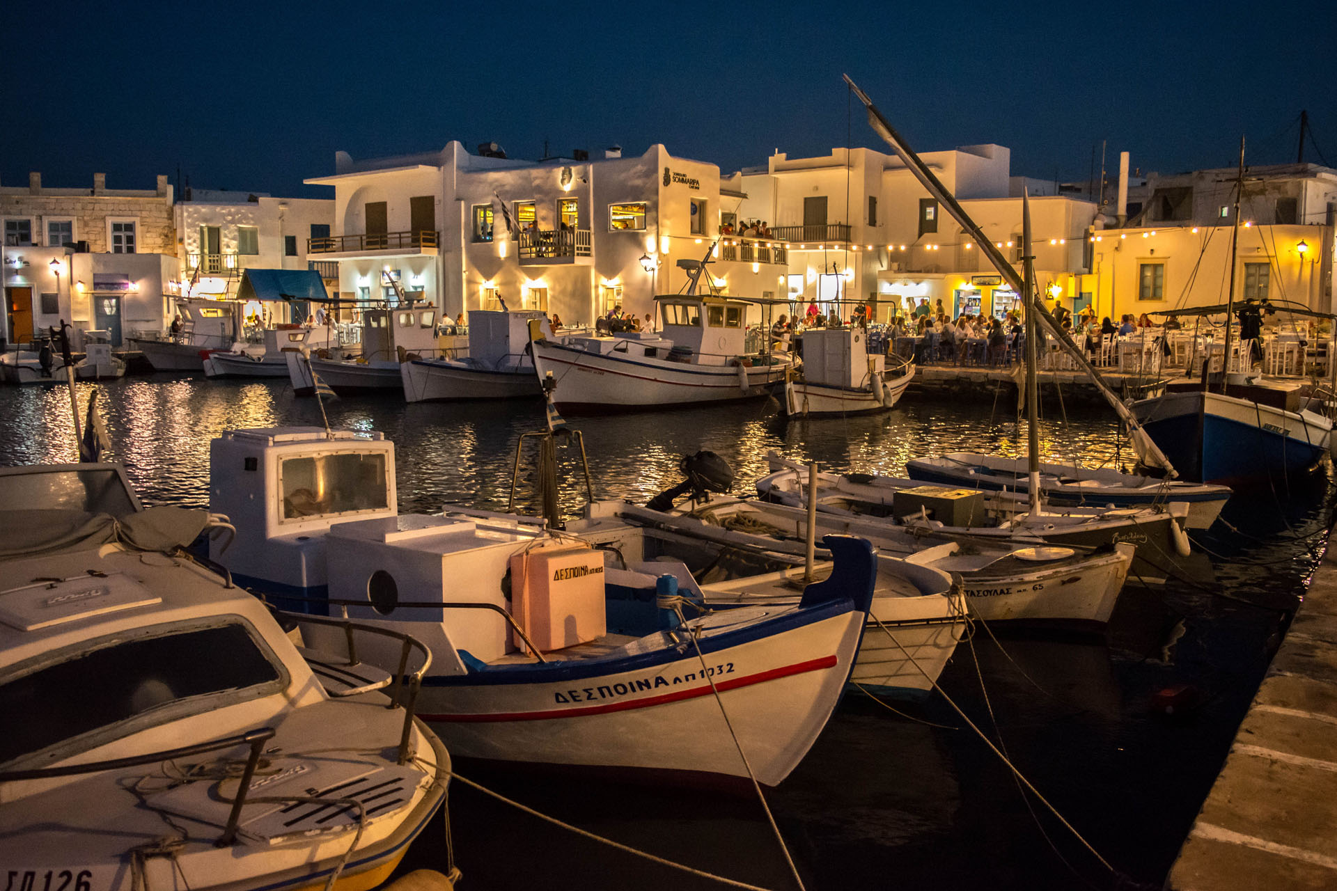 Is Paros a party island